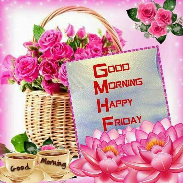 Good Morning Friday Quote With Flowers Pictures Photos And Images
