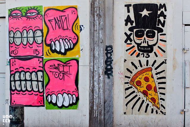 London Street Art from artists Sweet Toof & Paul Insect