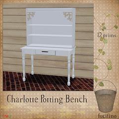 fucifino.Charlotte Potting Bench