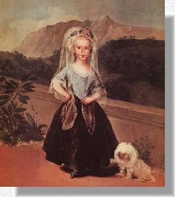 María Teresa de Borbón (a los dos años), National Gallery of Art, Whashinton D.C.
