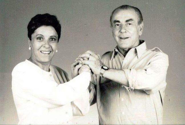 Cidinha Campos e Brizola (Foto: Divulgação)