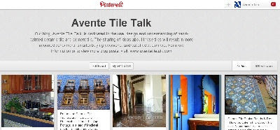 Avente Tile Talk on Pinterst