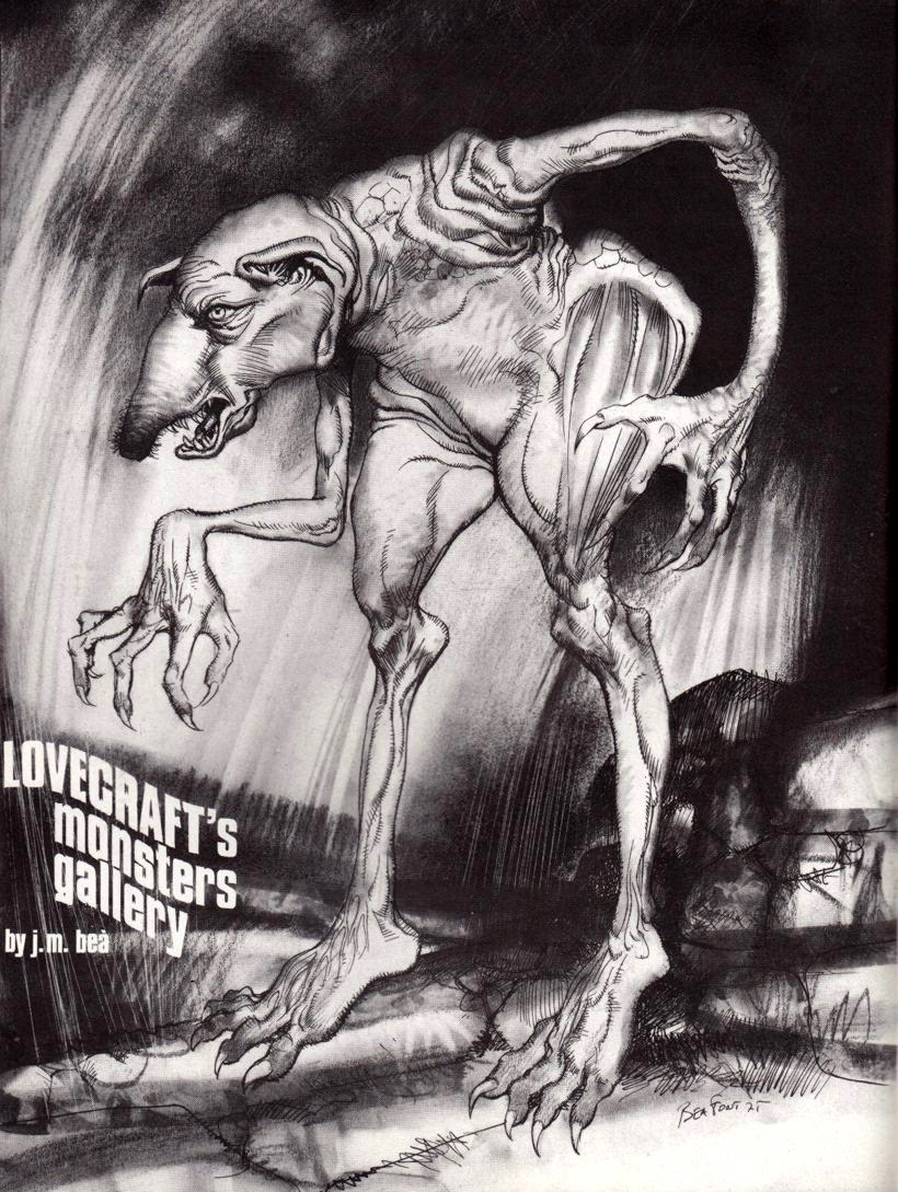 Josep M. Beá - Lovecraft Monster Gallery - 5