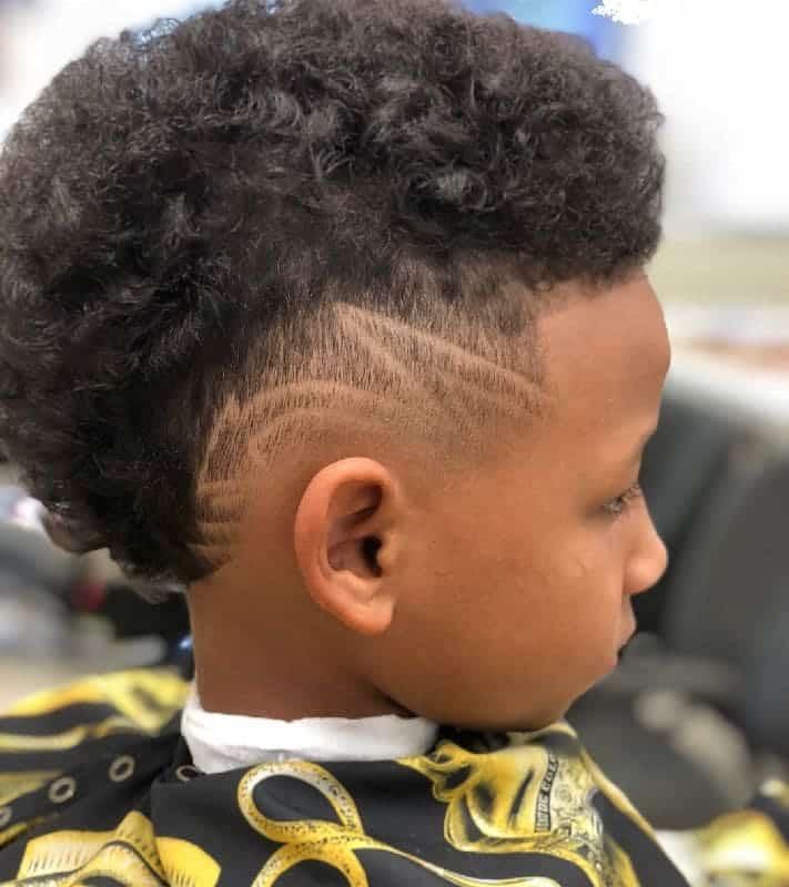 Long Hair Cool Haircuts For Black Boys 91