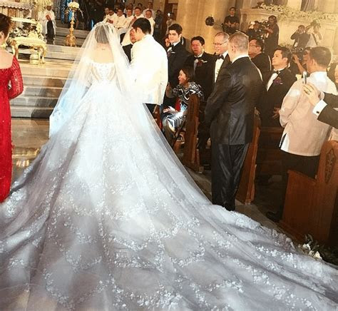JUST IN: Marian Rivera's Wedding Gown by Michael Cinco #