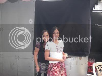 With Ana Santos
