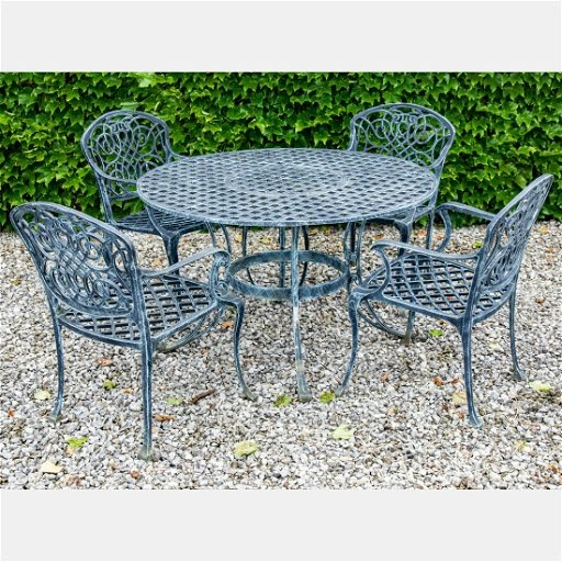 31+ Wrought Iron Patio Set Massachusetts