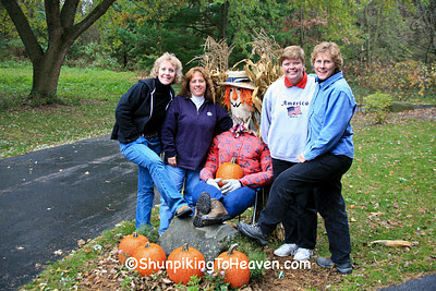 Joann with her Autumn Shunpiking Friends, Dane County, Wisconsin