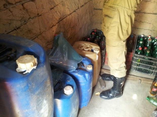 POLÍCIA: Operação apreende 628 litros de combustível em São João do Sóter