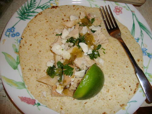 Chicken tacos from Cook This Not That 2011