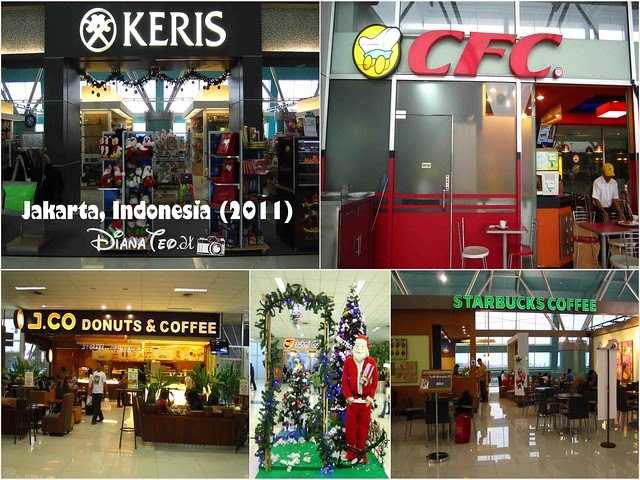 Shops in Jakarta Airport