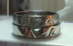Maza-h作成結婚指輪
