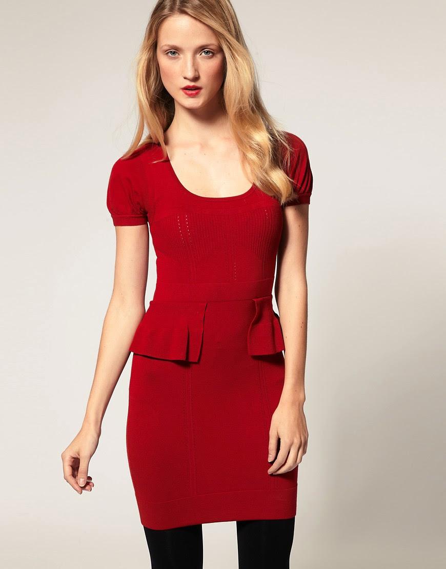 Karen millen studded knit bodycon dress large long