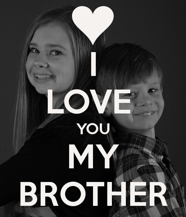 I Love You My Brother Picture Quotes