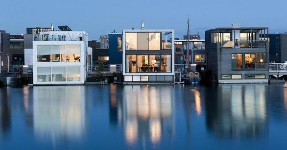 Μια hi-tech πόλη χτισμένη πάνω στο νερό (pics+vids)