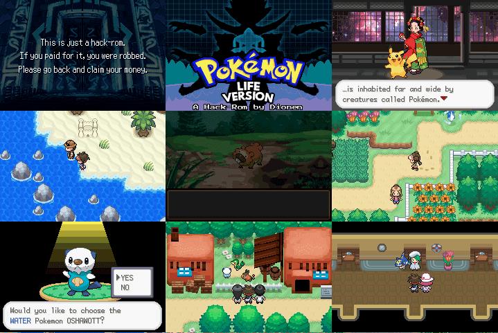 Pokemon LIFE Version ROM Hack  PokemonCoders
