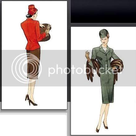 vogue suit pattern 1944