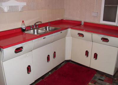 Retro To Go: eBay watch: English Rose 1950s kitchen units