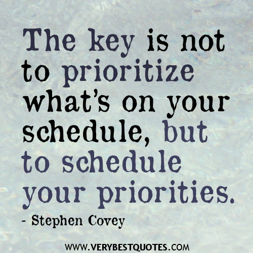 Quotes About Prioritize 93 Quotes