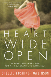 Heart Wide Open by Shellie Rushing Tomlinson