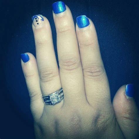 Royal Blue (Horizon)Wedding Nails   Nail Design