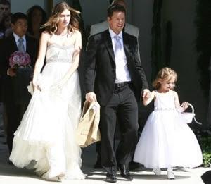 Mark Walhberg, wife Rhea and daughter Ella. Photo: