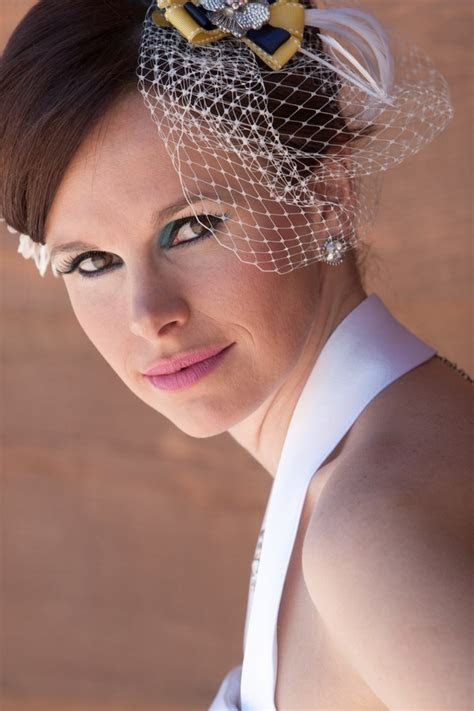 Retro Inspired, Navy & Yellow, Woodland Wedding   Bridal