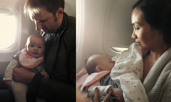 emma's first plane ride