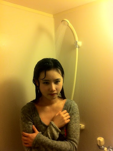 Tao Sha suffers in shower