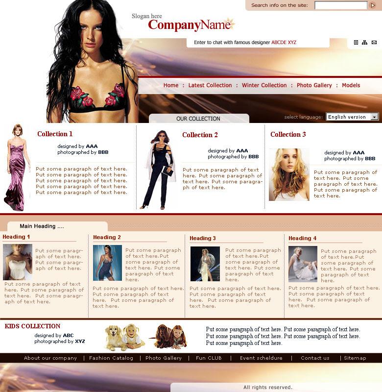 Best Fashion Websites Design Blog Pendidikan