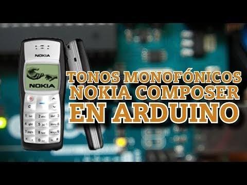 Cómo reproducir melodías monofónicas formato Nokia Composer en Arduino