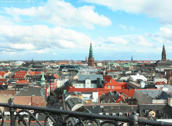 Runder Turm Kopenhagen Ausblick