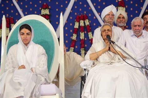 Sister Sudiksha anointed head of Nirankari Mission