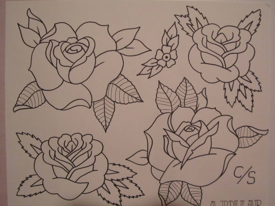 How To Draw Traditional Rose Flash Kadakawaorg
