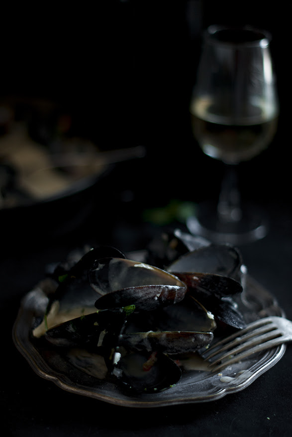Mussels. Leftovers