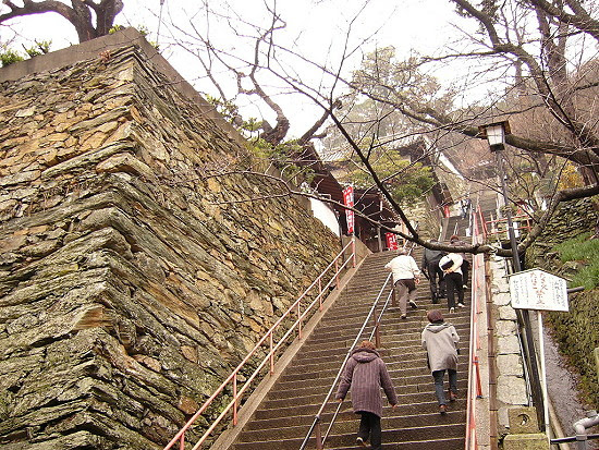 既陡又多的階梯