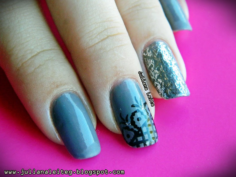 juliana leite unhas nail art decoradas desenho glitter 072