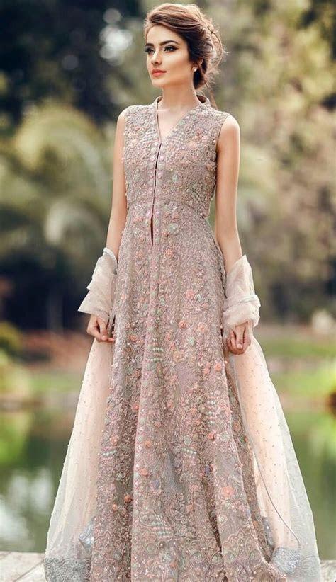 Latest Pakistani Fashion Wedding Guest Dresses 2019