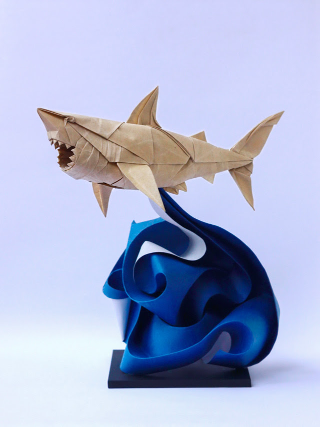 Astounding Origami by Nguyen Hung Cuong paper orgami