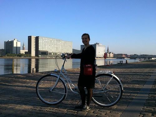 I bike Copenhagen!