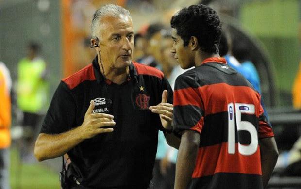 Dorival Junior e Gabriel, Flamengo x Olaria (Foto: Alexandre Vidal/Fla Imagem)