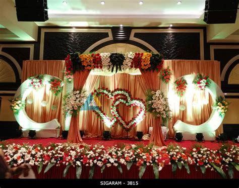 Reception Decoration at Anandha Inn Hotel, Pondicherry