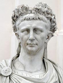 Bust of Emperor Claudius.