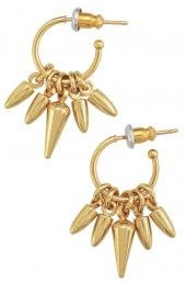 Stella & Dot Renegade Mini Cluster Hoops