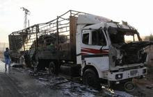 Russia blamed for strike that took out aid convoy in Syria