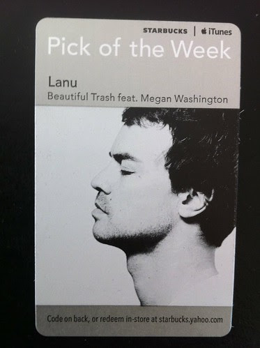 Starbucks iTunes Pick of the Week - Lanu - Beautiful Trash (featuring Megan Washington)