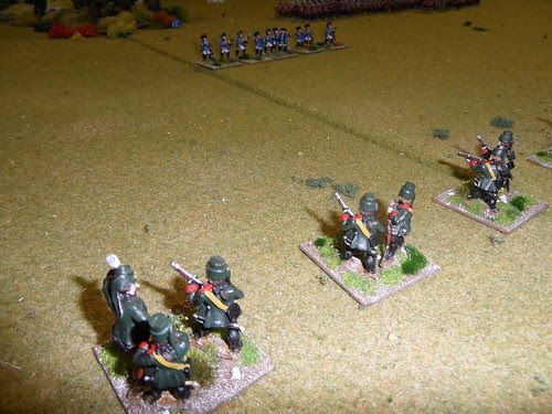 Skirmishers duel