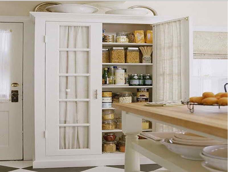Tall White Kitchen Pantry Cabinet - Decor IdeasDecor Ideas