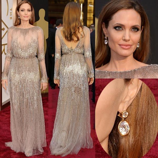 Angelina-Jolie-42-carat-diamond-earrings -at-Oscar-Awards-2014