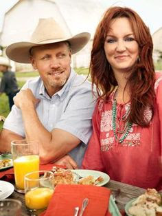 Ree Drummond - The Pioneer Woman - & her hubby, Ladd - Marlboro Man
